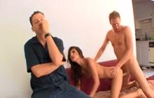 Latina Cuckold Wife A.J. Estrada With Mark Wood
